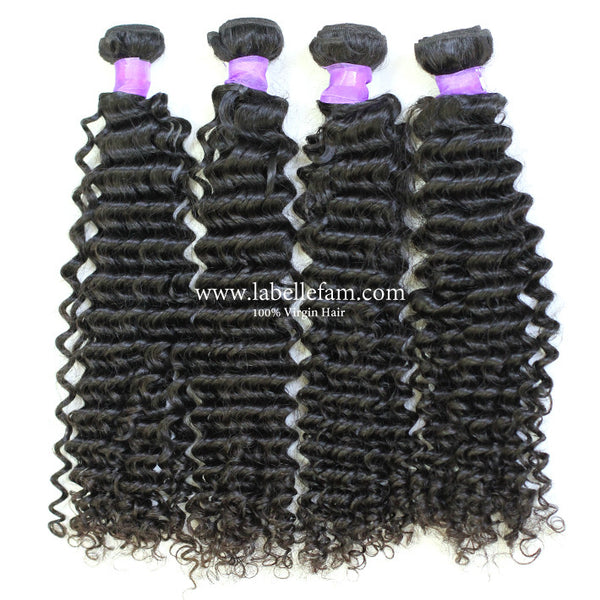 100% VIRGIN CAMBODIAN NATURAL CURLY