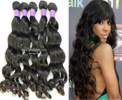 100% VIRGIN CAMBODIAN NATURAL WAVY
