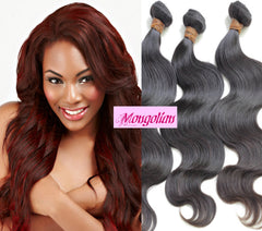 100% VIRGIN MONGOLIAN BODY WAVE