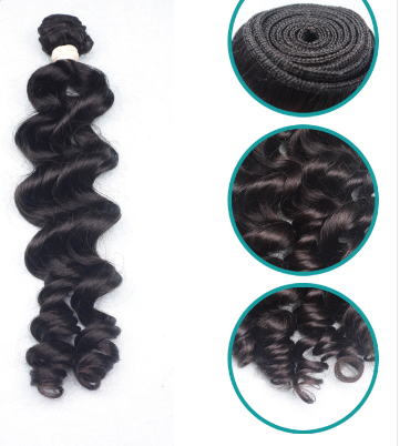 100% VIRGIN BRAZILIAN NATURAL WAVY 6A