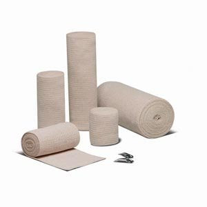 "Hartmann 33300000 Econo-Wrap Reinforced Elastic Bandage, Latex-Free, Sterile, 3"" Width, 4-1/2 yd. Length (Pack of 60)"