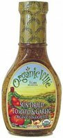 Organicville Organic Vinaigrette Sun Dried Tomato and Garlic -- 8 fl oz by Organicville