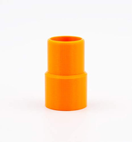 VirtuClean Heated Hose Adapter (Orange Adapter - Recommended Color)