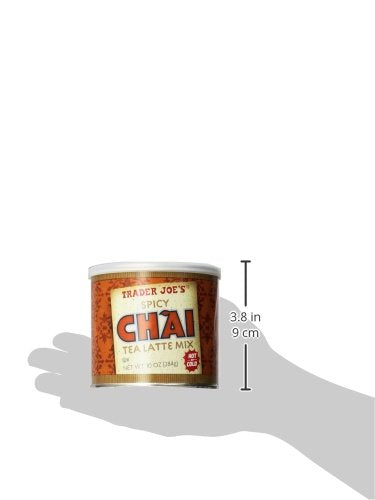 Trader Joe's Spicy Chai Latte 10 oz (2 pack)