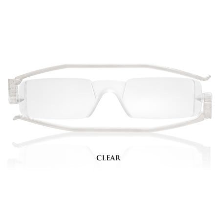 Compact 1 Reading Glasses - Clear +1.00