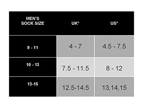 Silky Toes 3 or 6 Pk Men's Diabetic Non-Binding Cotton Dress Socks, Multi Colors Also Available in Plus Sizes... (13-15, Grey/Black/Burgundy -3 Pairs)