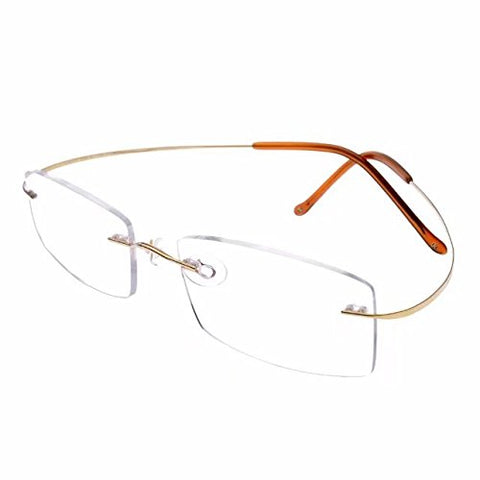 JCERKI Super Light 100% Titanium Reading Glasses 4.25 Readers Eyeglasses