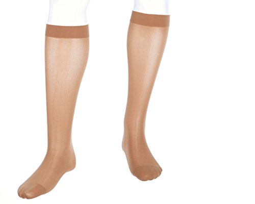 mediven Assure, 20-30 mmHg, Calf High Compression Stockings, Closed Toe