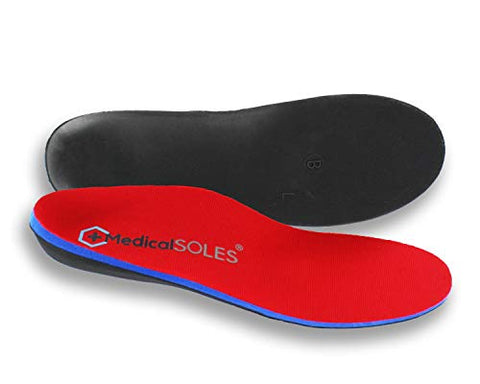 Medical SOLES Pro Series SILVER Full Length Insoles Orthotic inserts for Men/Women - MedicalSOLES Now available