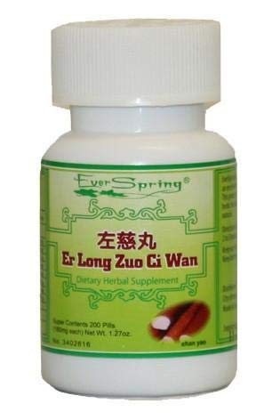Ever Spring Er Long Zuo Ci Wan Traditional Herbal Formula Pills / N016