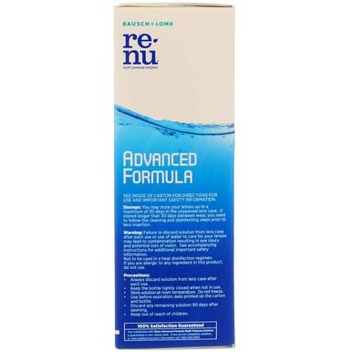 Bausch + Lomb Renu Fresh Multi-Purpose Solution - 4 oz, Pack of 5