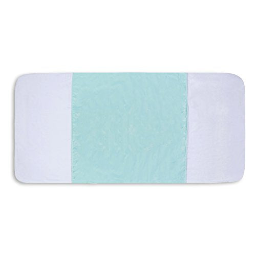 "Saddle Style Reusable Waterproof Bed Pad - Made in America (34"" X 36"")- 3 Pack (LIGHT GREEN)"