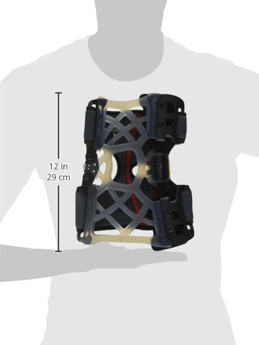 DonJoy OA (Osteoarthritis) Reaction Web Knee Support Brace: Medial Right/Lateral Left, Small