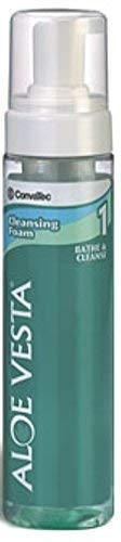 ConvaTec Aloe Vesta Cleansing Foam 8 oz (Pack of 8)