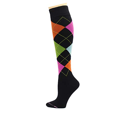 4 Pairs Dr. Motion Therapeutic Graduated Compression Women's Knee Hi Socksã¢â€â¦