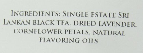 Elmwood Inn Fine Teas Earl Grey Lavender Black Tea, 16-Ounce Pouches