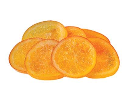 Gourmet Candied Orange Slices - 2.2 Lbs