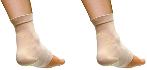PediFix Visco-gel Achilles Protection Sleeve - Large - 2- Pack