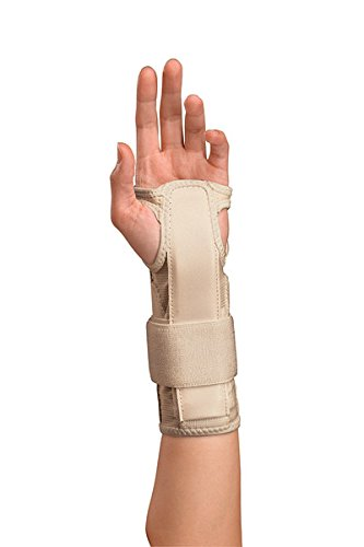 Mueller Wrist Stabilizer, Beige, Small/Medium