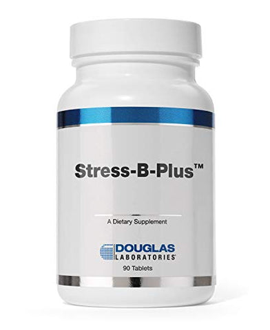 Douglas Laboratories - Stress-B-Plus - Comprehensive B Vitamin Complex - 90 Tablets