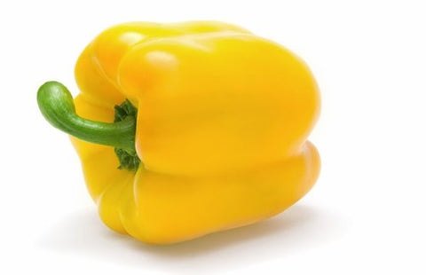YELLOW PEPPER LARGE FRESH FRUIT PRODUCE VEGETABLES EACH (1)