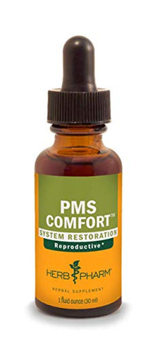 Herb Pharm PMS Comfort Liquid Herbal Formula for Support During Premenstrual Syndrome - 1 Ounce