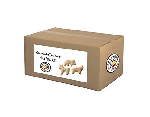 Exclusively Pet Animal Shaped Cookies, 11-Pound Box, 07003