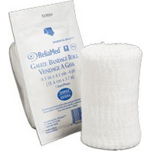 Reliamed Sterile Gauze, 4.5 in.x4.1yd, 6-ply - Each