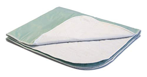 Lumex Washable Incontinence Bed Pad with 3-Layer Protection, 29x35