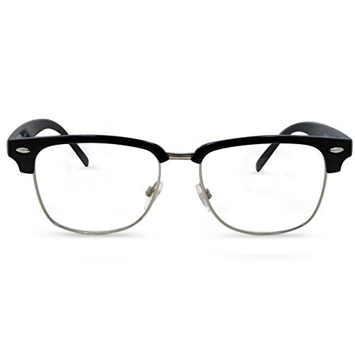 In Style Eyes Sellecks Bifocal Reading Glasses for Both Men & Women Black 1.50