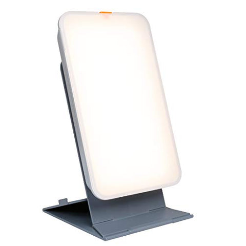 TheraLite Light Therapy Lamp - 10,000 LUX - Compact Bright Light Sun Lamp - Energy Booster and Mood Lifter