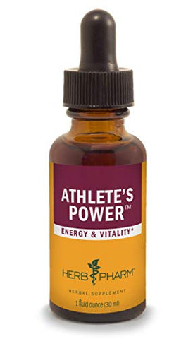 Herb Pharm Athlete's Power Liquid Herbal Formula for Energy and Vitality - 1 Ounce