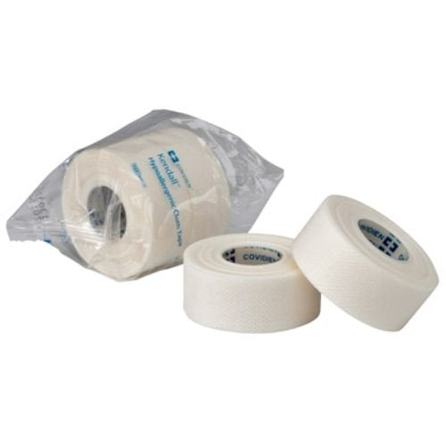 "Covidien 9414C Kendall Cloth Tape, 4"" x 10 yd. Size (Pack of 12)"