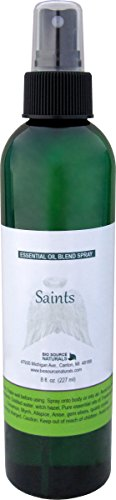Saints Essential Oil Blend Reiki Charged Spray 8 fl.oz / 227 ml - to Access Non Physical Guides