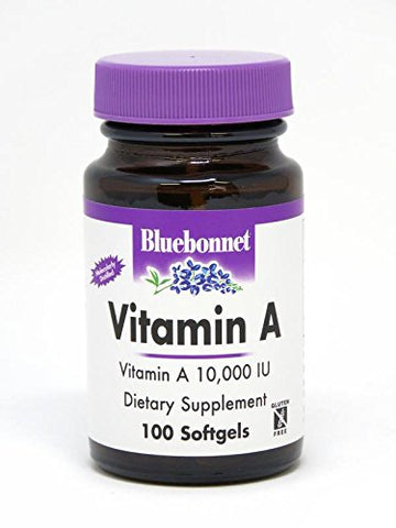BLUEBONNET NUTRITION Vitamin A, 100 CT