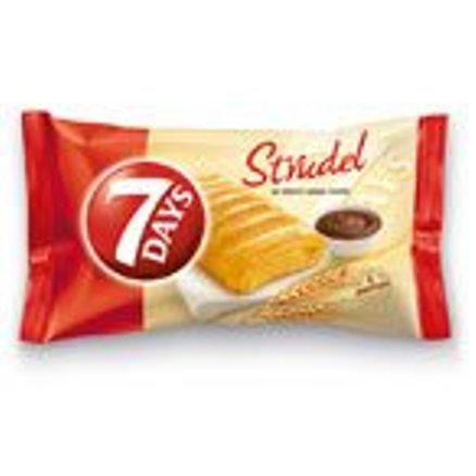 7 Days Strudel with Cocoa Cream Greece - 8 Packs X 85g (3.0 Ounches Per Pack)
