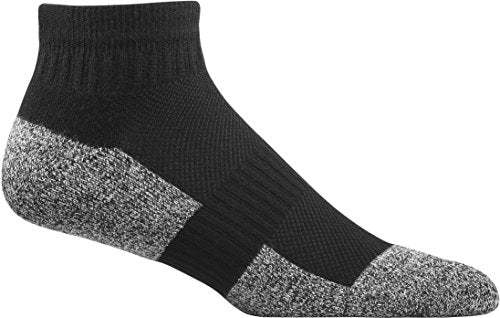 Dr. Comfort Diabetic Ankle Socks, Black, X-Large (1 Pair)