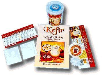 Kefir Starter Kit (One Reusable Kefir Floater + Kefir Starter Culture That Lasts for 6 Months of Continuous batches + The e-Book Kefir Rediscovered) Brand: Kefir Culture Natural Ltd