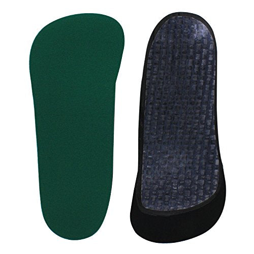 Spenco Rx Thinsole 3/4 Length Shoe Insoles, Women's 9-10.5/Men's 8-9.5