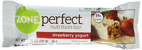 ZonePerfect Nutrition Snack Bars, Strawberry Yogurt, (5 Count)