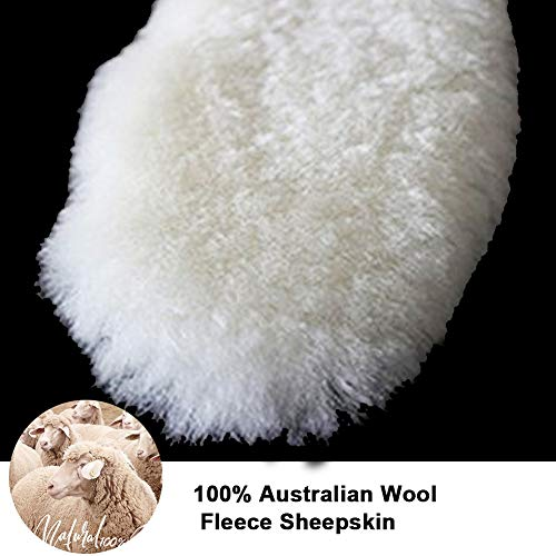 Ailaka Womenâ??S Premium Thick Sheepskin Insoles/Inserts, Warm Fluffy Fleece Wool Replacement Insole
