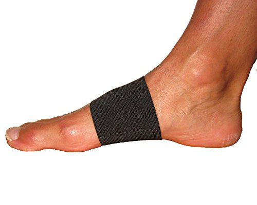 Flexa Med Arch Bandage (Pair)   Black