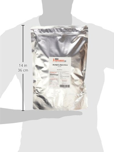 Bulk Supplements.Com Alcar H Cl (Acetyl L Carnitine H Cl) (1 Kilogram)
