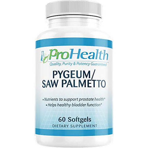 ProHealth Pygeum/Saw Palmetto (60 Medium softgels)