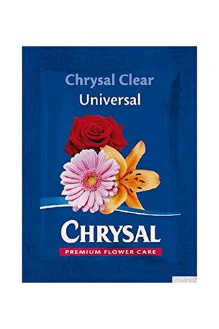 CHRYSAL Clear 200 Piece Universal Flower Food