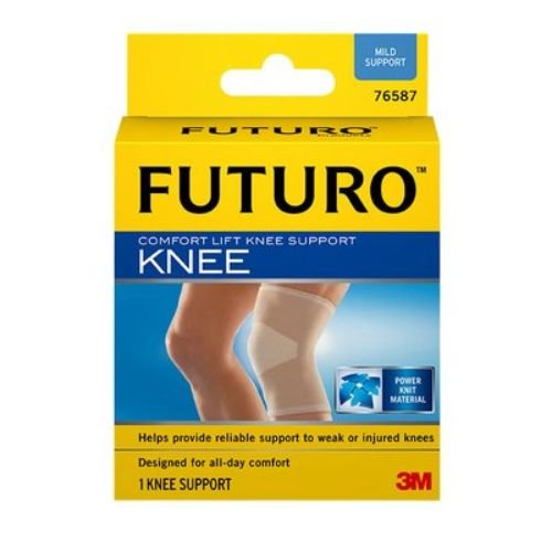 3M Health Care 76587EN Futuro Comfort Lift Knee Support, Medium, Beige (Pack of 12)