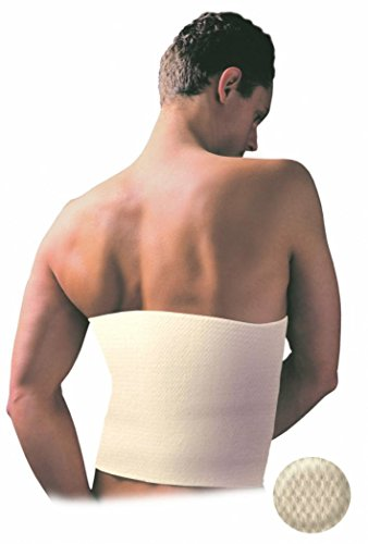 DELUXE Medical Grade Angora & Merino WOOL WARMING BELT, Rheumatic Back Pain Thermal Brace, RADICULITIS WARMER, Lumbar Kidney Support (Large)