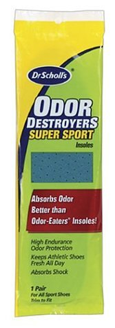 Dr. Scholl's Odor Destroyers Insoles for Sports Shoes - 1 pr