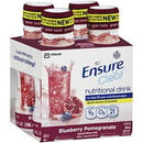 Image of Ensure Clear Blueberry Pomegranate, Ready-to-Drink, 10oz, Retail 56500 Qty 4 Per Package
