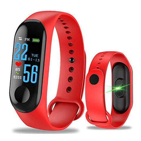 oope M3 Smart Bracelet Activity Tracker, Fitness Tracker Smart Band Wristband Fitness Bracelet for Sports